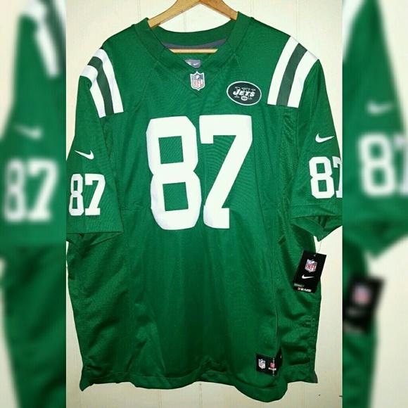 NFL NY Jets  87 Sewn Nike Jersey Men Sizes 2XL 5d2a84867